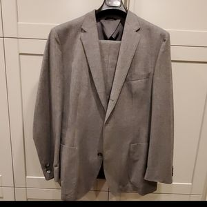 Hugo Boss grey cashmere flannel suit